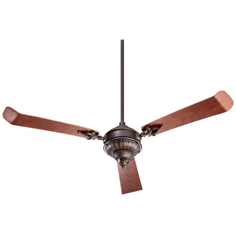 "60"" Quorum Brewster Oiled Bronze Ceiling Fan"