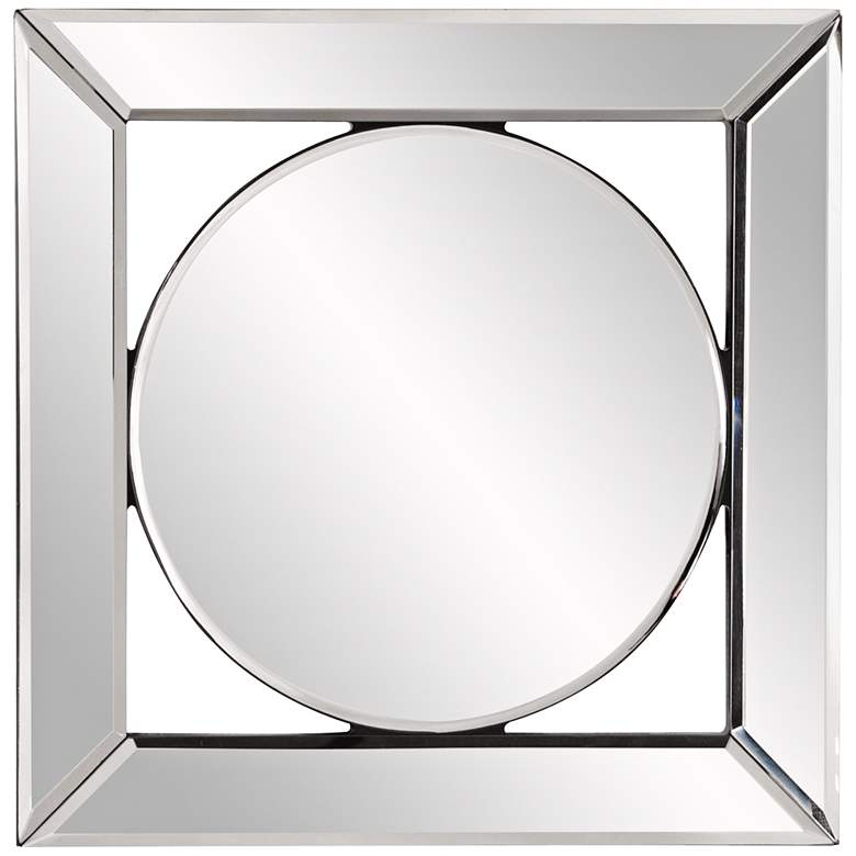 "Howard Elliott Lula Mirror Frame 12"" Square Wall Mirror"