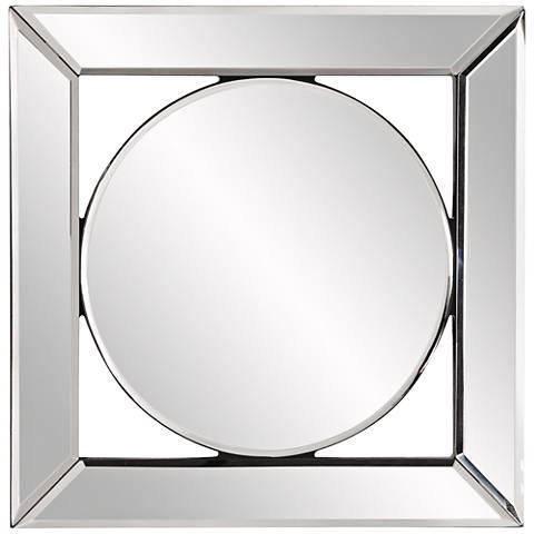 "Howard Elliott Lula Mirror Frame 12"" Square Wall Mirror"