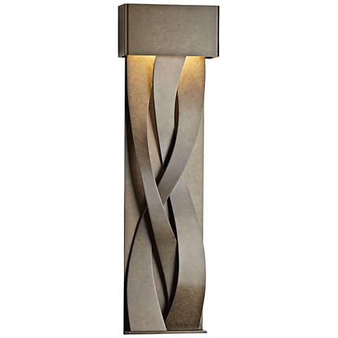 "Tress 31 3/4"" High Bronze Large LED Outdoor Wall Light"
