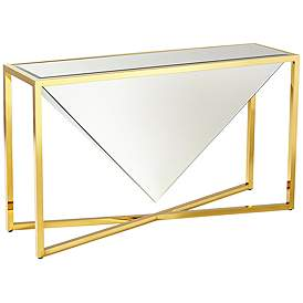 Glass Sofa Console Tables 54 In And More Tables Lamps Plus