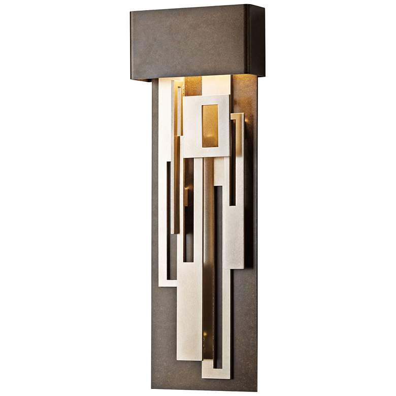 """Collage 27 1/4"""" High Bronze Medium LED Wall Sconce"""