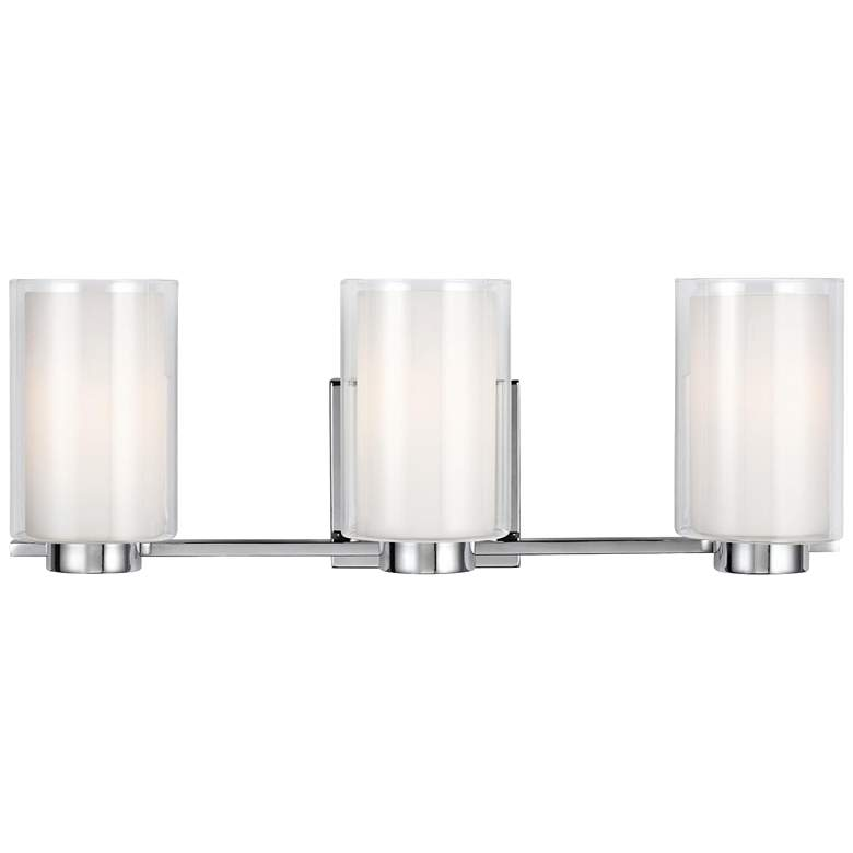 "Feiss Bergin 3-Light 21 1/2"" Wide Chrome Bath"