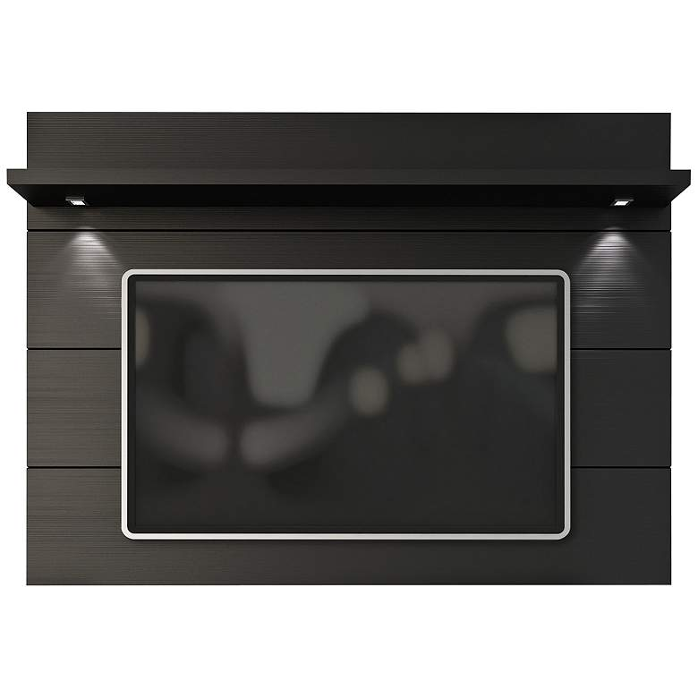 Cabrini 2.2 Black Matte Wood Floating Wall TV