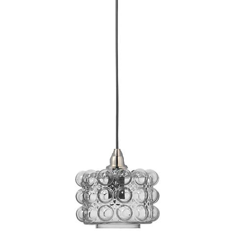 Jamie young cici 8 12 wide clear glass small mini pendant 1v181 jamie young cici 8 12 wide clear glass small mini pendant 1v181 lamps plus aloadofball Choice Image
