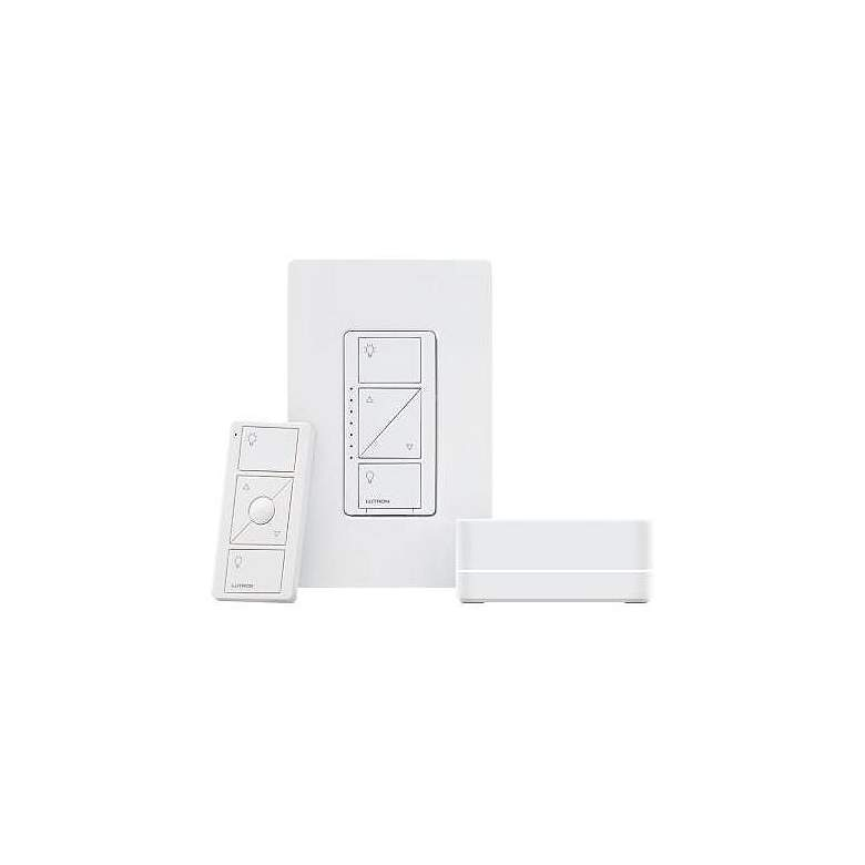 Caseta Pro Wireless Smart Bridge Home Lighting Kit