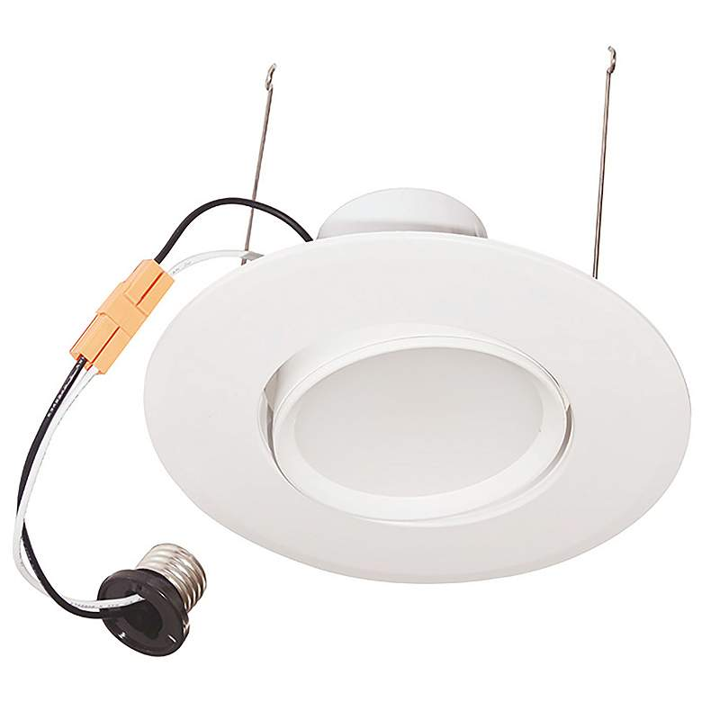 "14 Watt LED 6"" Pivoting Recessed Downlight"