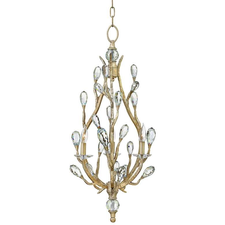 "Fredrick Ramond Eve 18 1/2""W Champagne Gold Pendant Light"