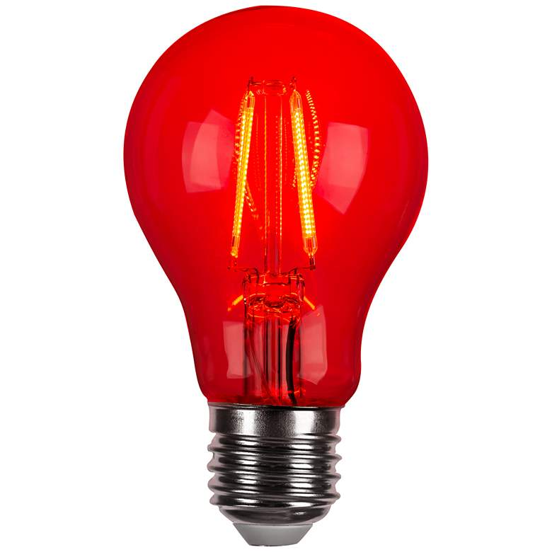 40W Equivalent Red 4W LED Dimmable Standard Party Bulb