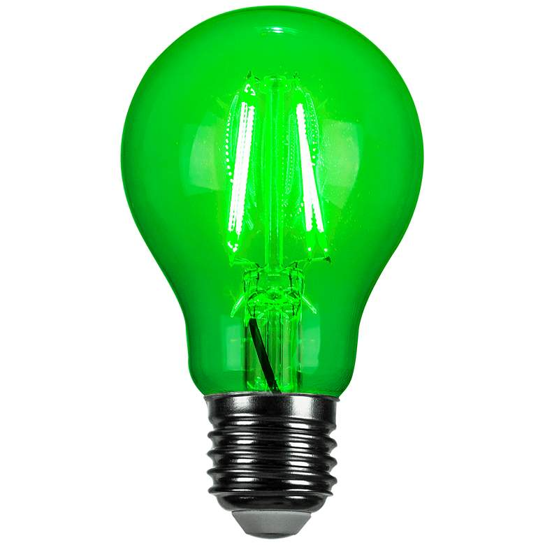 40W Equivalent Green 4W LED Dimmable Standard Party