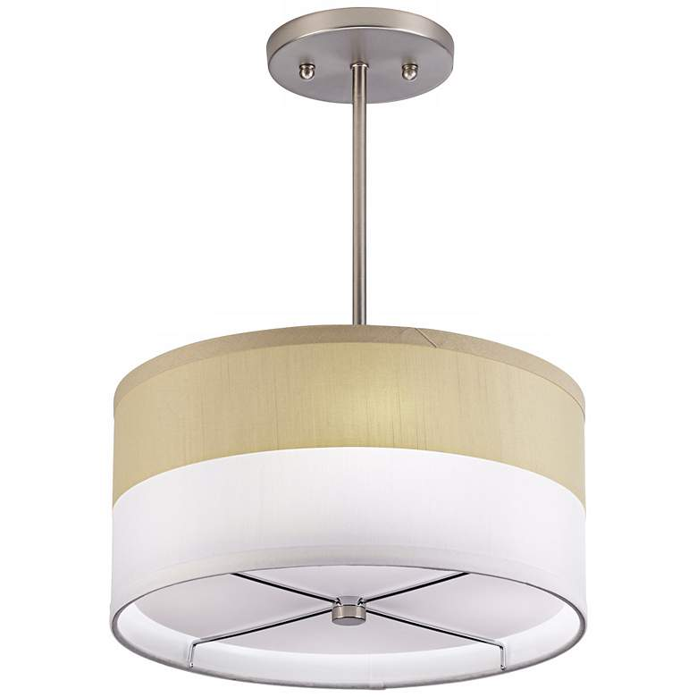 1V329 - Brushed Nickel Metal Mini Pendant
