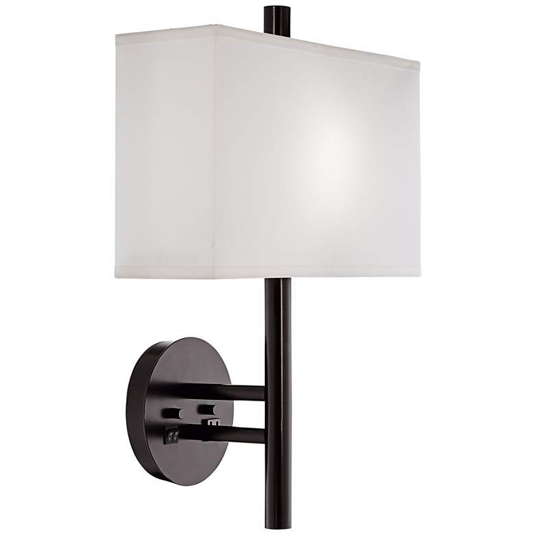 1V607 - Headboard Mounted Left hand w/LED lead Lamp