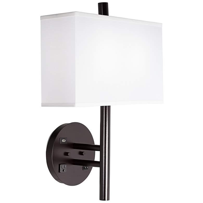 1V669 -Headboard mounted wall lamp Left Side Mount