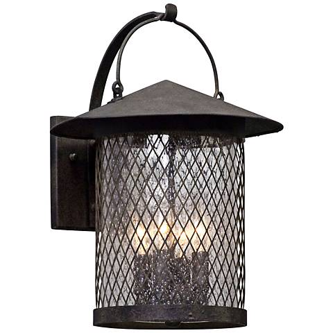 "Altamont 16 3/4"" High French Iron Outdoor Wall Light"
