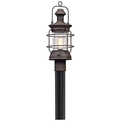 """Atkins 21"""" High Centennial Rust Outdoor Post Light"""