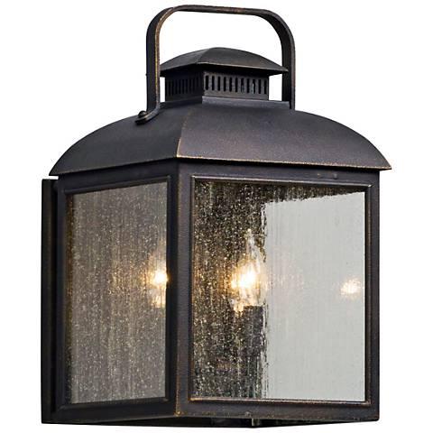 """Chamberlain 16 1/2"""" High Vintage Bronze Outdoor Wall Light"""