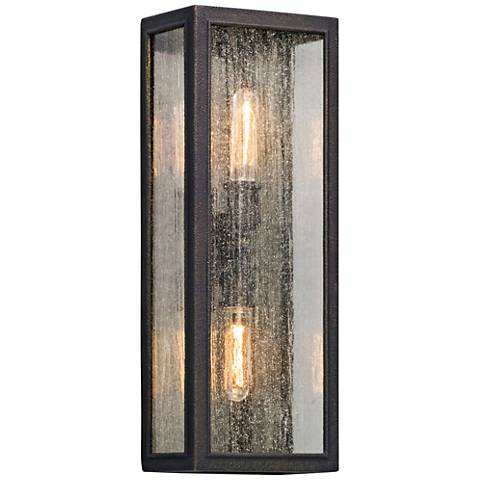 "Dixon 22"" High Vintage Bronze Outdoor Wall Light"