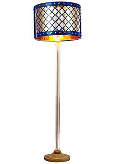 49 in 60 in standard eangee floor lamps lamps plus beverley gold and navy blue column floor lamp audiocablefo