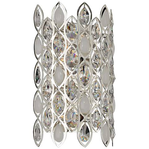 """Prive 16"""" High Silver 4-Light Wall Sconce"""