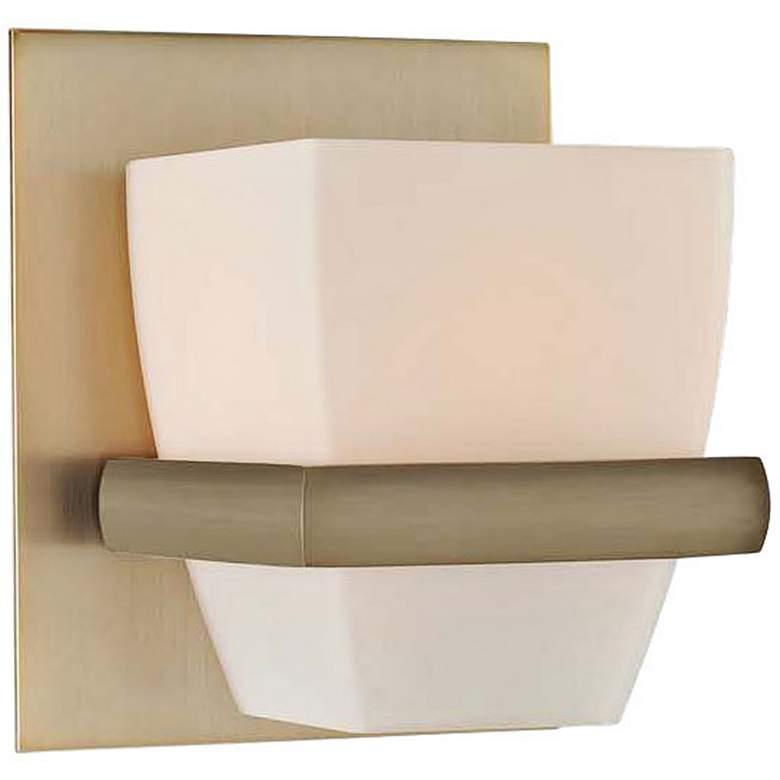 """Malibu 5"""" Wide Brushed Bronze 1-Light Wall Sconce"""