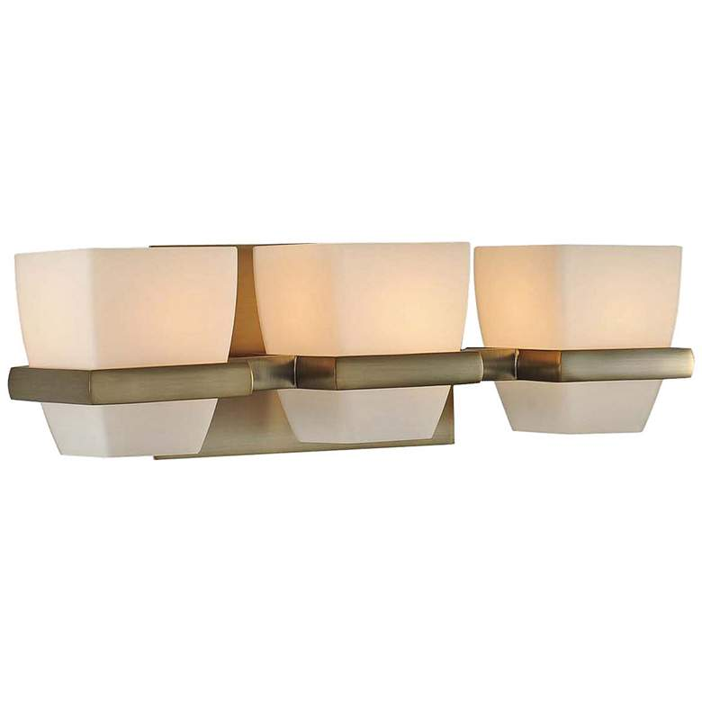 "Malibu 16"" Wide Brushed Bronze 3-Light Bath Light"