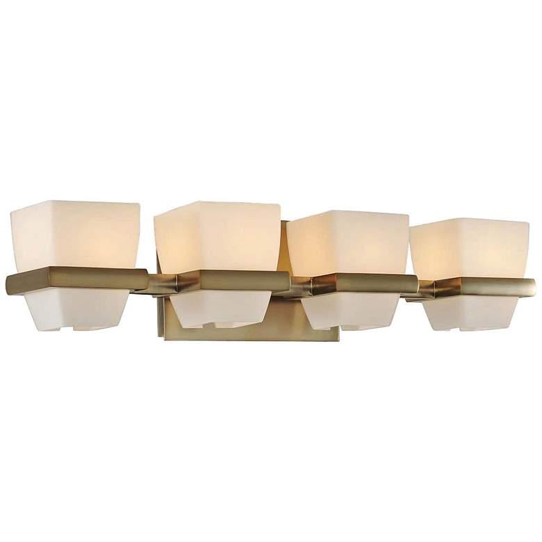 "Malibu 22"" Wide Brushed Bronze 4-Light Bath Light"
