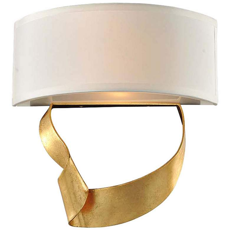 "Avalon 12"" High Roman Gold 2-Light Left Wall Sconce"