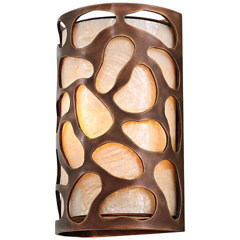"Gramercy 11"" High Copper Patina 1-Light Wall Sconce"