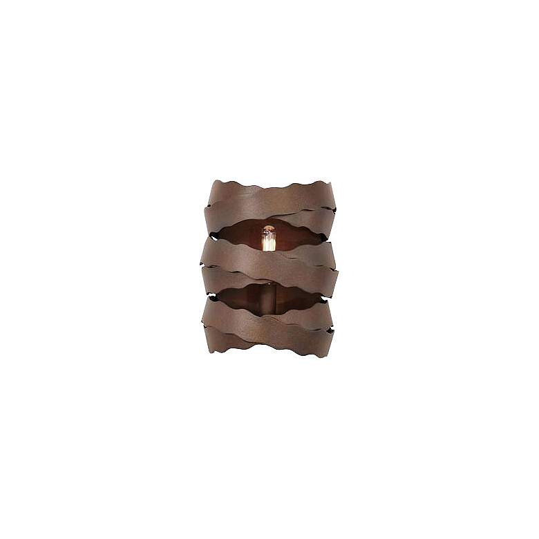 """Fulton 9"""" High Brownstone 1-Light Wall Sconce"""