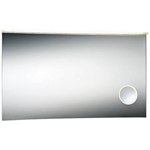 "Eurofase Magnifier 47 1/4"" x 27 1/2"" Large LED Wall Mirror"