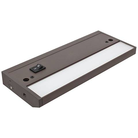 """LED Complete-2 Dark Bronze 8.75"""" Wide Under Cabinet Light"""