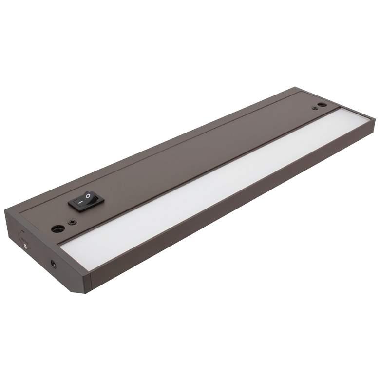 """LED Complete-2 Dark Bronze 12.25"""" Wide Under Cabinet Light"""