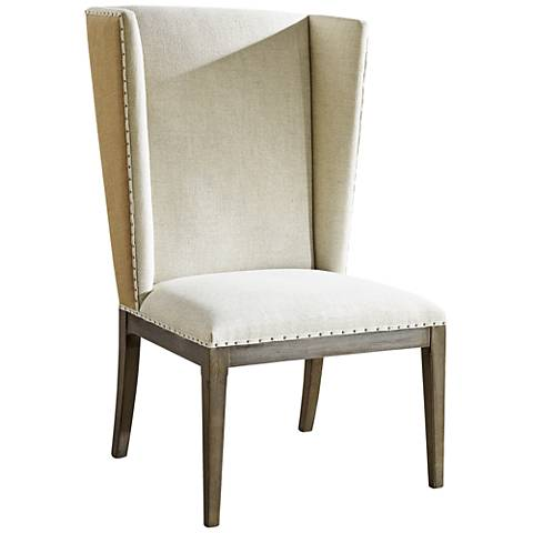 Playlist Brown Eyed Girl and Fabric Host Side Chair Set of 2