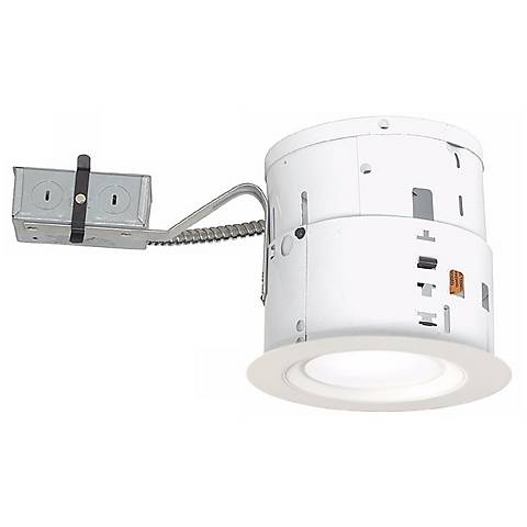 "6"" Non-IC Remodel 15W LED Complete Recessed Kit"