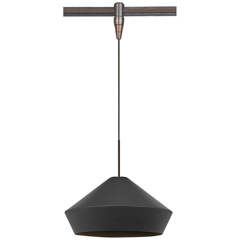 "Brummel 10 1/2""W Antique Bronze LED Monorail Mini"