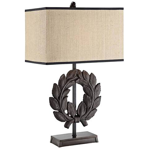 Crestview Collection Laurel Rustic Table Lamp