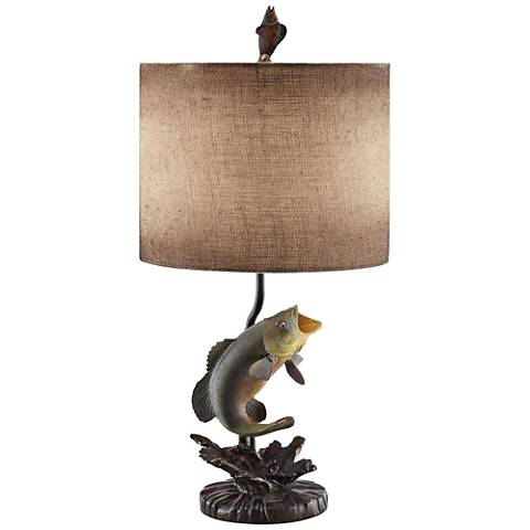 Crestview Collection Bass Table Lamp