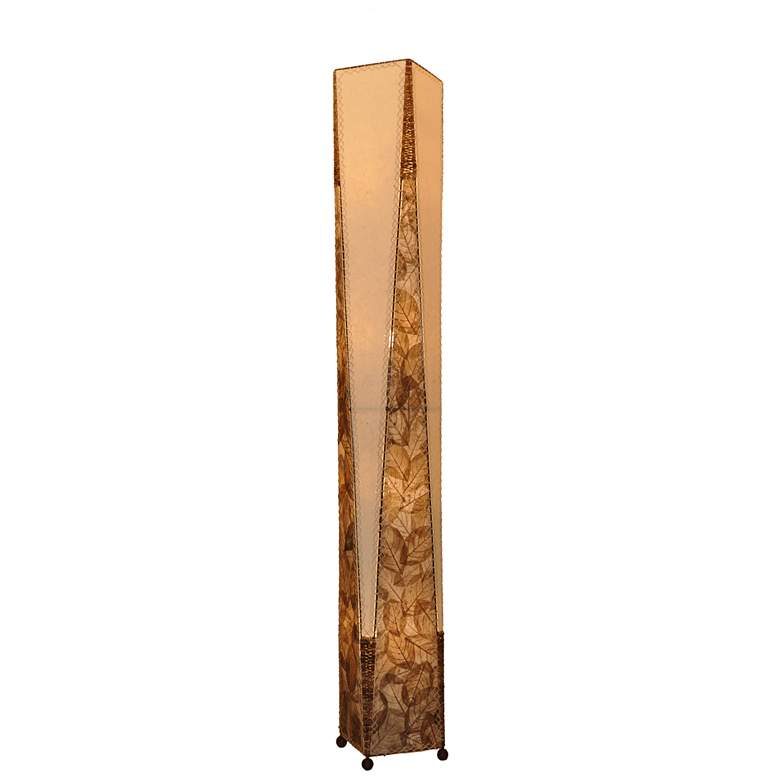 Eangee Trapezoid Natural Hand-Made Paper Giant Floor Lamp