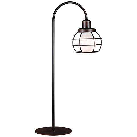 Kenroy Home Caged Oil Rubbed Bronze Table Lamp