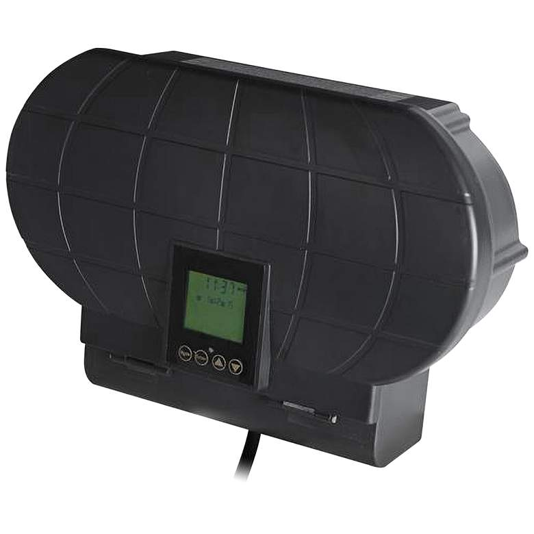 Black Low Voltage 600 Watt Transformer with Sunwise Control