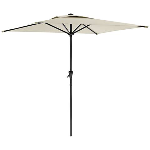 Shala 9-Foot Warm White Tilting Square Patio Umbrella