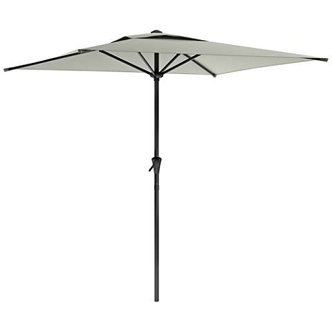 Shala 9-Foot Sand Gray Tilting Square Patio Umbrella
