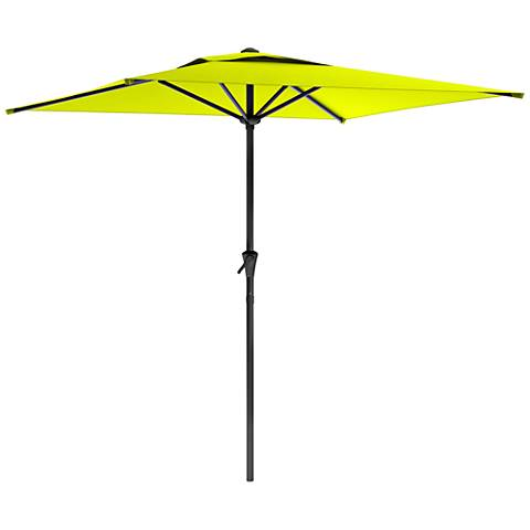 Shala 9-Foot Lime Green Tilting Square Patio Umbrella