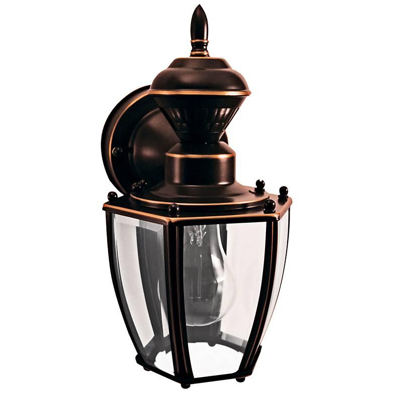 "Coach Copper 10 3/4""H Motion-Sensing Outdoor Wall Light"