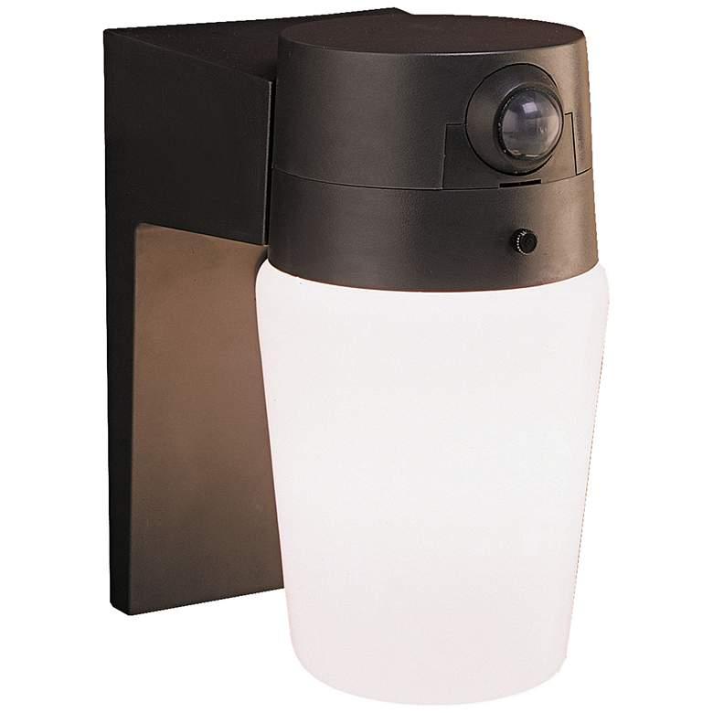 "Entryway Bronze 8 1/4"" High Motion Sensor Security Light"