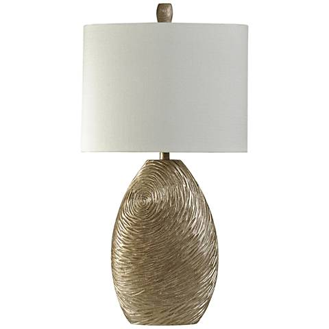 Everest Canella Swirl Gold Table Lamp