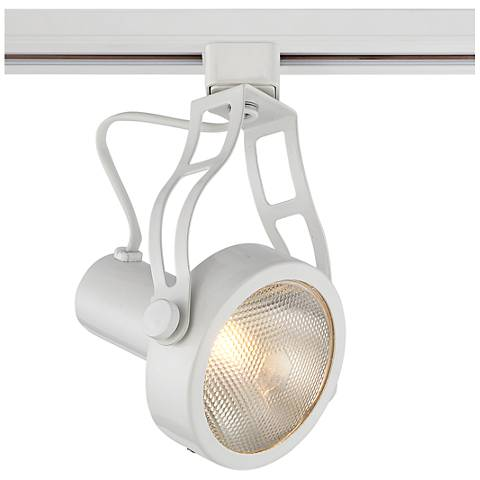 Pro Track White Spotlight PAR30 Head for Halo Track Systems