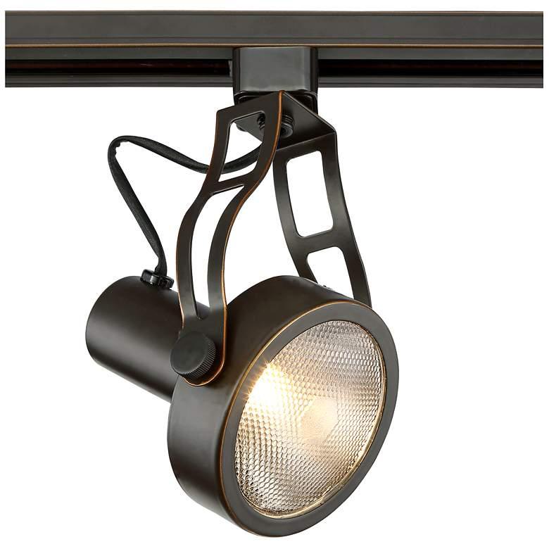 Pro Track Bronze Spotlight Par30 Head For Halo Systems 1x364 Lamps Plus