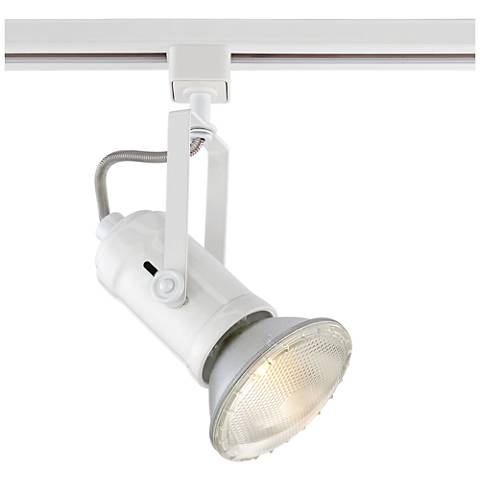 voltage gimbal lighting fixture halo ring light lazer low track white