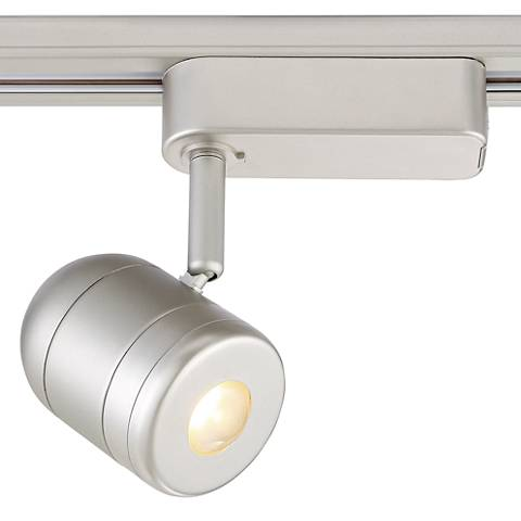5.5 Watt Brushed Steel LED Linear Halo Track Head